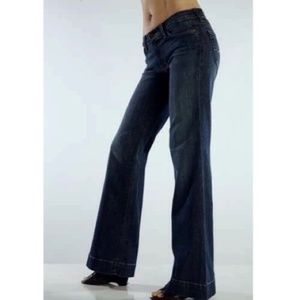 RED ENGINE 'Coral' Lo-Rise Wide Leg Jeans 27